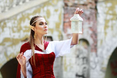 Elf princess royalty free stock photography