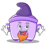Elf rice cooker character cartoon Royalty Free Stock Image