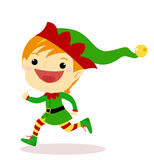 Elf running Stock Photos