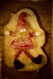Elf Santa Christmas decoration Stock Image
