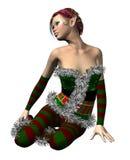 Elf Santa helper Royalty Free Stock Photo