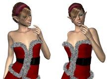 Elf Santa helper Stock Photography