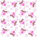 Elf seamless pattern Royalty Free Stock Photos