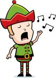 Elf Singing Stock Images