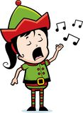 Elf Singing Royalty Free Stock Photos