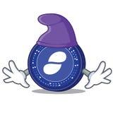 Elf Status coin character cartoon. Vector illustration Stock Photography