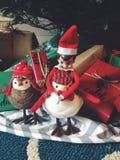Elf sur l'étagère Images libres de droits