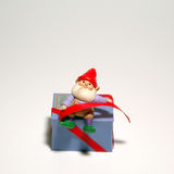 Elf-Verzierung Lizenzfreie Stockfotos