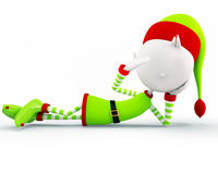 Elf voor Kerstmis Stock Fotografie