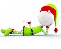 Elf voor Kerstmis Royalty-vrije Stock Fotografie