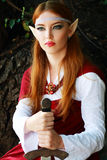 Elf warrior girl