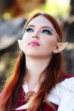 Elf warrior girl Royalty Free Stock Photo