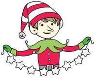 Elf z gwiazdami Fotografia Royalty Free
