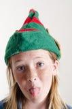 elfa dziewczyny kapelusz Obrazy Royalty Free
