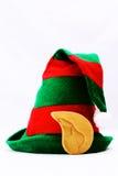 Elfa kapelusz w bielu Zdjęcie Royalty Free