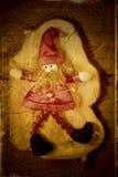 Elfa Santa bożych narodzeń dekoracja Obraz Stock
