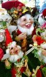 Elfdecoratie Stock Fotografie