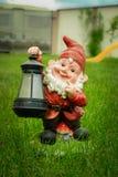 Elfe de gnome de jardin Photos stock