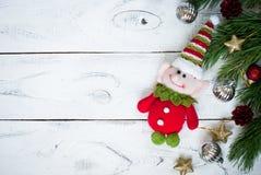 Elfe de Noël Photographie stock