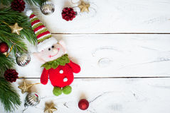 Elfe de Noël Image stock