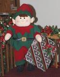 Elfe de Noël Photographie stock libre de droits