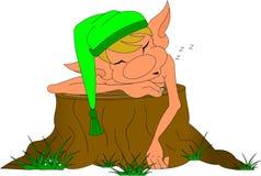 Elfe de sommeil Images libres de droits