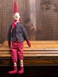 Elfe sur l'étagère Photo stock