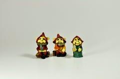 Elfen und Gnomen Stockbild
