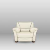 Elfenbeinfarbenes Sofa Stockbild