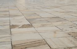 Elfenbeinweißer Marmorboden Taj Mahal Agra India Lizenzfreie Stockbilder