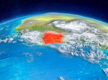 Elfenbenskusten på jord Arkivbilder