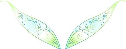 Elfenflügel Stockbild