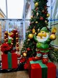 Elfes de Noël Photos stock