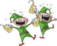 Elfi del partito illustrazione di stock