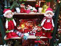 Elfi di Natale Immagine Stock Libera da Diritti
