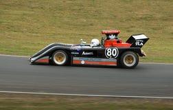 Elfin F5000 racing car at speed Stock Images