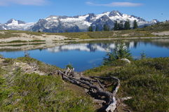 Elfin Lakes Royalty Free Stock Images