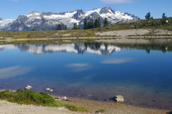 Elfin Lakes. In Garibaldi Provincial Park in Canada Stock Photos