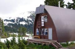 Elfin lakes hut Stock Photo