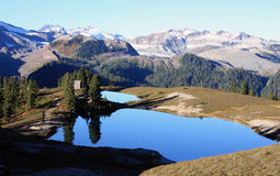 Elfin Lakes and Hut. Stock Images