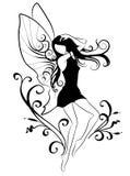 Elfo di Dancing Immagine Stock
