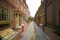 Переулок Elfreth, Стоковые Изображения