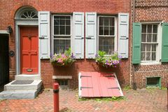 Elfreth's Alley Stock Photography