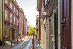 Elfreth's Alley Royalty Free Stock Photos