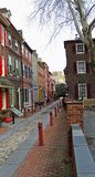 Elfreth's Alley 1 royalty free stock images
