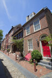 Elfreth's Alley in Philadelphia Royalty Free Stock Photography