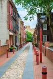 Elfreth`s Alley Philadelphia Royalty Free Stock Images