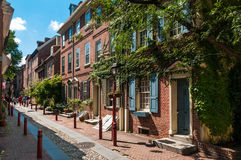 Elfreth's Alley, Philadelphia Royalty Free Stock Photography