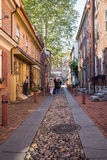 Elfreths Alley Philadelphia Royalty Free Stock Photography