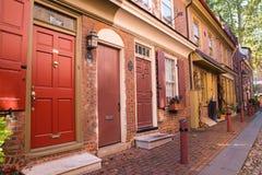 Elfreths Alley Philadelphia Royalty Free Stock Photo